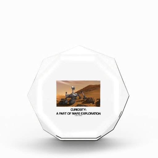 Curiosity A Part Of Mars Exploration Award