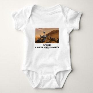 Curiosity A Part Of Mars Exploration Baby Bodysuit