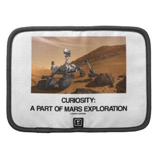 Curiosity A Part Of Mars Exploration Folio Planner