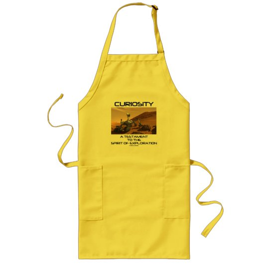 Curiosity A Testament To The Spirit Of Exploration Long Apron