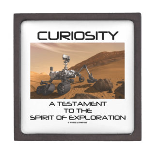Curiosity A Testament To The Spirit Of Exploration Premium Gift Box
