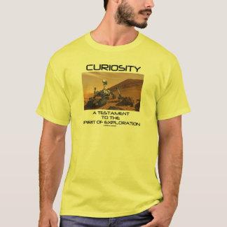 Curiosity A Testament To The Spirit Of Exploration T-Shirt