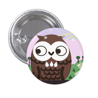 Curiosity and The Wise Old Owl Pin