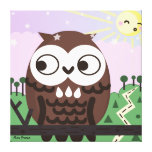 Curiosity and The Wise Old Owl Canvas Prints