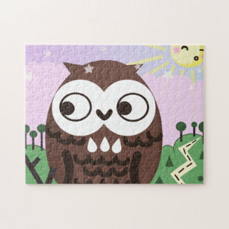 Curiosity and The Wise Old Owl Jigsaw Puzzle