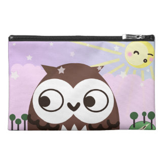 Curiosity and The Wise Old Owl Travel Accessory Bag
