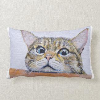Curiosity Cat Cushion