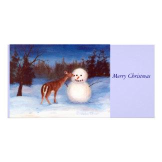 Curiosity Christmas Photo Card