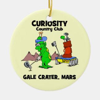 Curiosity Country Club Ceramic Ornament