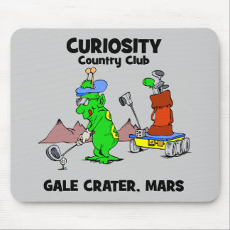 Curiosity Country Club Mouse Pad
