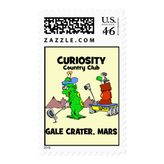 Curiosity Country Club Postage Stamps