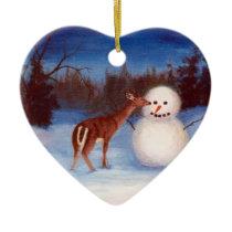 Curiosity Heart Ornament