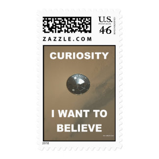 Curiosity - I Want To Beleive Stamp