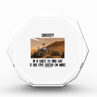 Curiosity In A Quest To Find Out Life On Mars Award