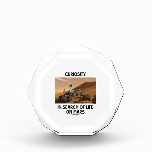 Curiosity In Search Of Life On Mars Martian Rover Award