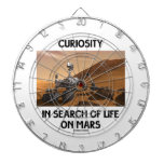 Curiosity In Search Of Life On Mars Martian Rover Dart Board