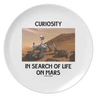 Curiosity In Search Of Life On Mars Martian Rover Plates