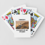 Curiosity In Search Of Life On Mars Martian Rover Bicycle Card Deck