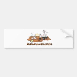 Curiosity killed the Cat Bumper Sticker