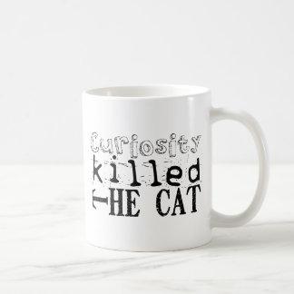 Curiosity killed the Cat - Proverb Coffee Mug