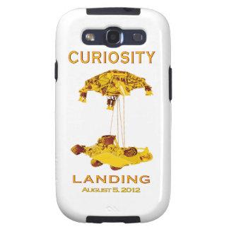Curiosity Landing - Aug 5, 2012 Samsung Galaxy S3 Covers