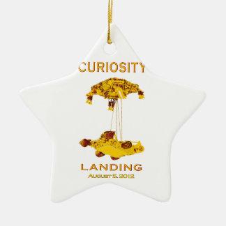 Curiosity Landing - Aug 5, 2012 Ceramic Ornament
