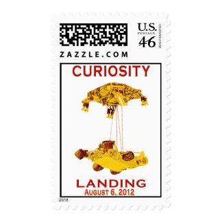 Curiosity Landing Aug 6 2012 Postage
