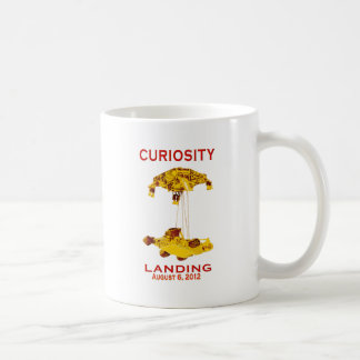 Curiosity Landing Aug 6, 3012 Coffee Mug