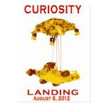 Curiosity Landing Aug 6, 3012 Post Card