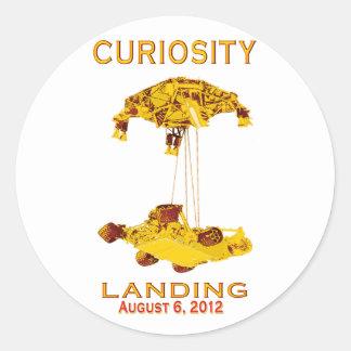 Curiosity Landing Aug 6, 3012 Stickers