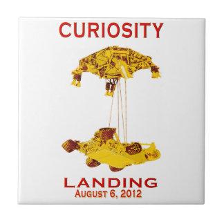 Curiosity Landing Aug 6, 3012 Ceramic Tiles