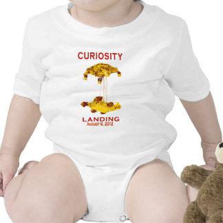 Curiosity Landing Aug 6, 3012 T-shirts