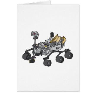 Curiosity, Mars Rover Card