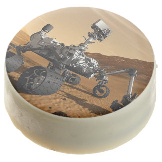 Curiosity Mars Rover Chocolate Dipped Oreo Cookies
