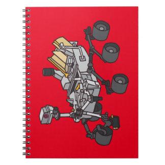 Curiosity, Mars Rover Notebook