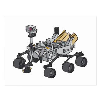 Curiosity, Mars Rover Postcard