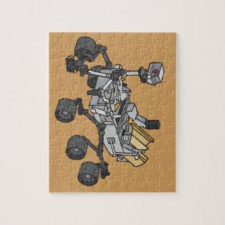 Curiosity, Mars Rover Puzzle