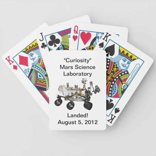 """""""Curiosity"""" Mars Science Laboratory Playing Cards"""