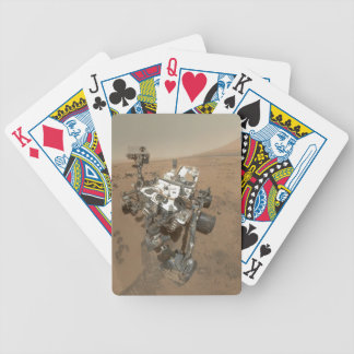 Curiosity on Mars Bicycle Playing Cards