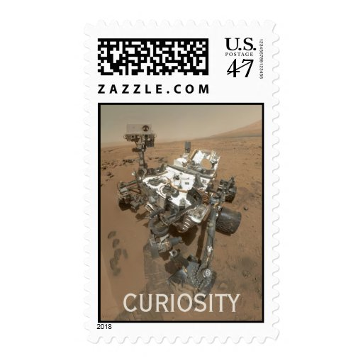Curiosity on Mars first class postage