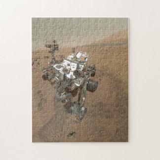 Curiosity on Mars Jigsaw Puzzle