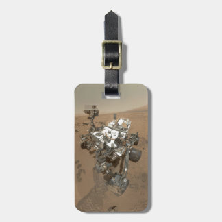 Curiosity on Mars Tag For Luggage