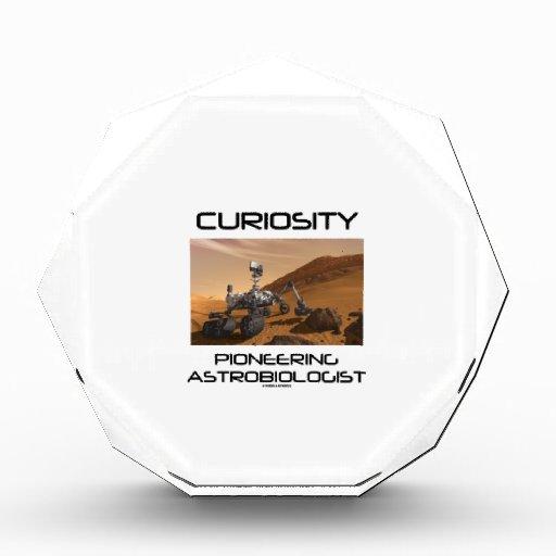 Curiosity Pioneering Astrobiologist (Mars Rover) Acrylic Award