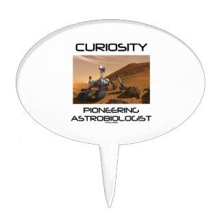 Curiosity Pioneering Astrobiologist (Mars Rover) Cake Topper