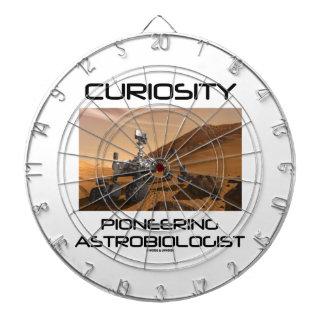 Curiosity Pioneering Astrobiologist (Mars Rover) Dartboard With Darts