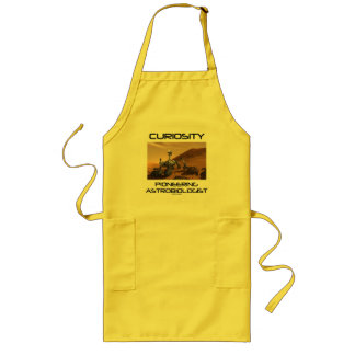 Curiosity Pioneering Astrobiologist (Mars Rover) Long Apron