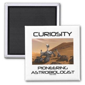 Curiosity Pioneering Astrobiologist (Mars Rover) Refrigerator Magnets