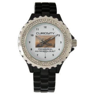 Curiosity Pioneering Astrobiologist (Mars Rover) Wrist Watch