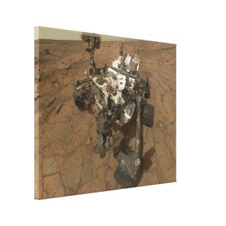 Curiosity Rover Canvas Print