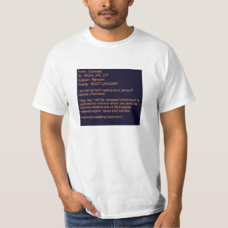 Curiosity Rover Hostage Report T-shirt